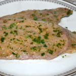 Scaloppine al prezzemolo