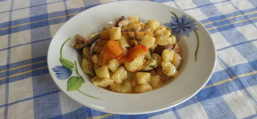 chicche di patate allo scoglio