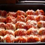 conchiglioni al forno con carne tritata e ricotta