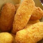 crocchette di patate con gamberetti