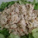 insalata con pollo e maionese