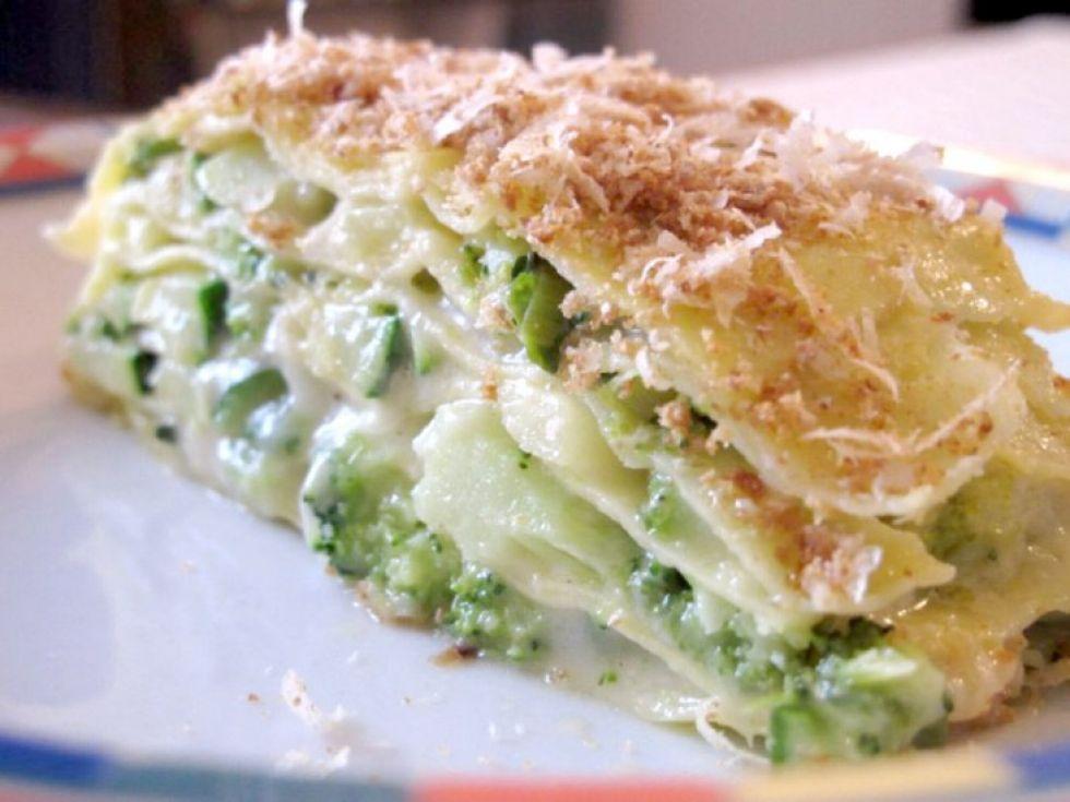 lasagne integrali con verdure