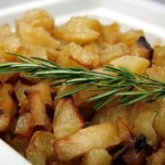 patate al forno con pancetta e rosmarino