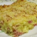 tortino patate prosciutto e mozzarella