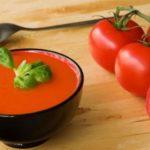 Ricetta vegana e raw del gazpacho andaluso, molto veloce da farsi