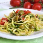 Spaghetti raw di zucchine