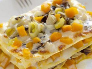 ricetta lasagna e zucca