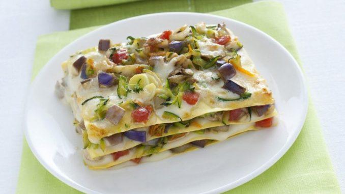 lasagne di verdure estive ingredienti e preparazione