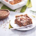 Lasagne vegan al ragù di lenticchie, senza uova, senza latte e volendo anche senza glutine!