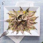 Ricetta per delle squisite alici marinate, ideali per l'antipasto