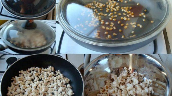 ricetta pop corn